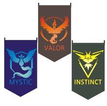 Pokemon Go Outdoor Banner Team Valor Mystic Instinct Flag Home Decor Party Decoration