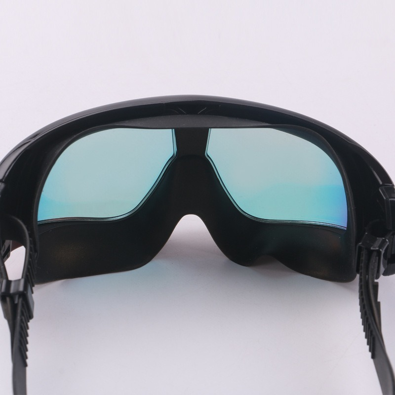 Novo grande quadro colorido óculos de proteção