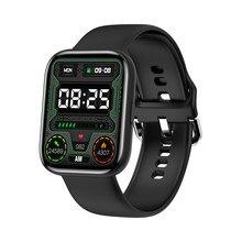 Moda g69 relógio inteligente, 1.69 Polegada tela colorida quadrada bluetooth5.0 conexão telefone inteligente feminino xatch