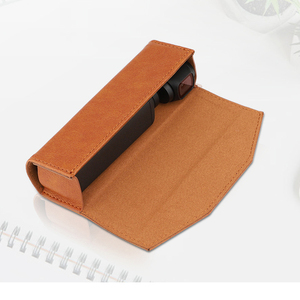 Image 2 - ポータブル収納袋革保護ケースハンドバッグ DJI OSMO ポケットアクションカメラアクセサリー用のバックルをぶら下げと 3 色