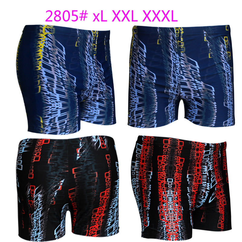 Top Grade Swimming Trunks Printed Plus-sized Swimming Trunks Men Fertilizer-Swimming Trunks Men's Swimming Trunks 2805 Bathing S