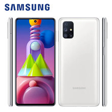 Versão global original samsung galaxy m51 M515F-DSN telefone móvel 128gb rom 6gb ram 6.7