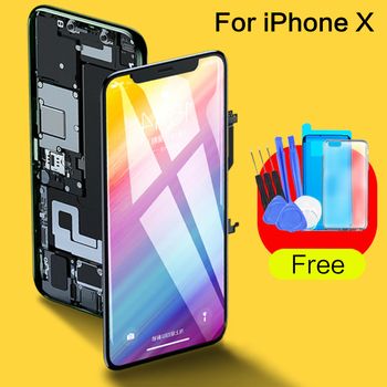 Grade For Iphone X OLED Screen GXOLED TFT With 3D Touch Digitizer Assembly Accessories LCD Screen Replacement Original Display screen for iphone x oled 11 pro with 3d touch digitizer assembly lcd screen replacement display for iphonex 11 pro lcd with gift