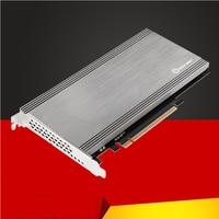 H1111z adicionar em cartões pcie para m2 adaptador m.2 ssd pcie adaptador m.2 para pcie x16 adaptador nvme pci express m chave para 2230-2280 m2 ssd