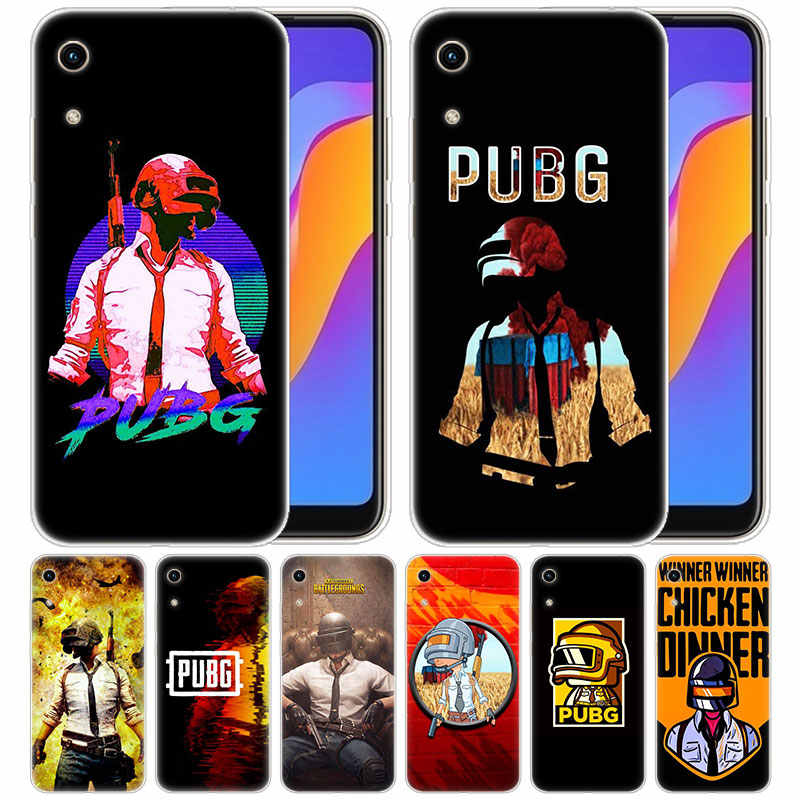 luxury Soft Silicone Case PUBG Game for Huawei Honor 9X 8A 7A 20 Pro 7X 8X 7S 8S 8 9 10 Lite View 20 20i 10i Play Fashion Cover
