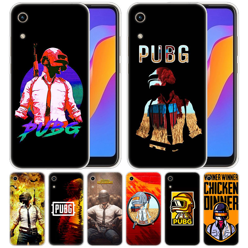 luxury Soft Silicone Case PUBG Game for Huawei <font><b>Honor</b></font> 9X 8A 7A 20 Pro 7X 8X 7S 8S 8 <font><b>9</b></font> 10 <font><b>Lite</b></font> View 20 20i 10i Play Fashion Cover image