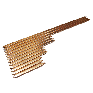 Pure Copper Tube Tubing For Computer Laptop Cooling Notebook Heat Pipe Flat 110mm/130mm/150mm/170mm/190mm/210mm/225mm(China)