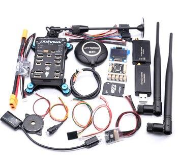 цена на Pixhawk PX4 PIX 2.4.8 32 Bit Flight Controller Autopilot with 4G SD Safety Switch Buzzer PPM I2C RC Quadcopter Ardupilot