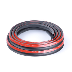 Image 5 - P/B/D Type Weatherstrip Noise Insulation Anti scratch Rubber Seals For Car Door Trunk Engine