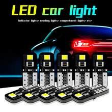 10X 12V T10 194 168 W5W SMD LED Car HID Branco CANBUS Livre de Erros Wedge Light Bulb Transporte Da Gota