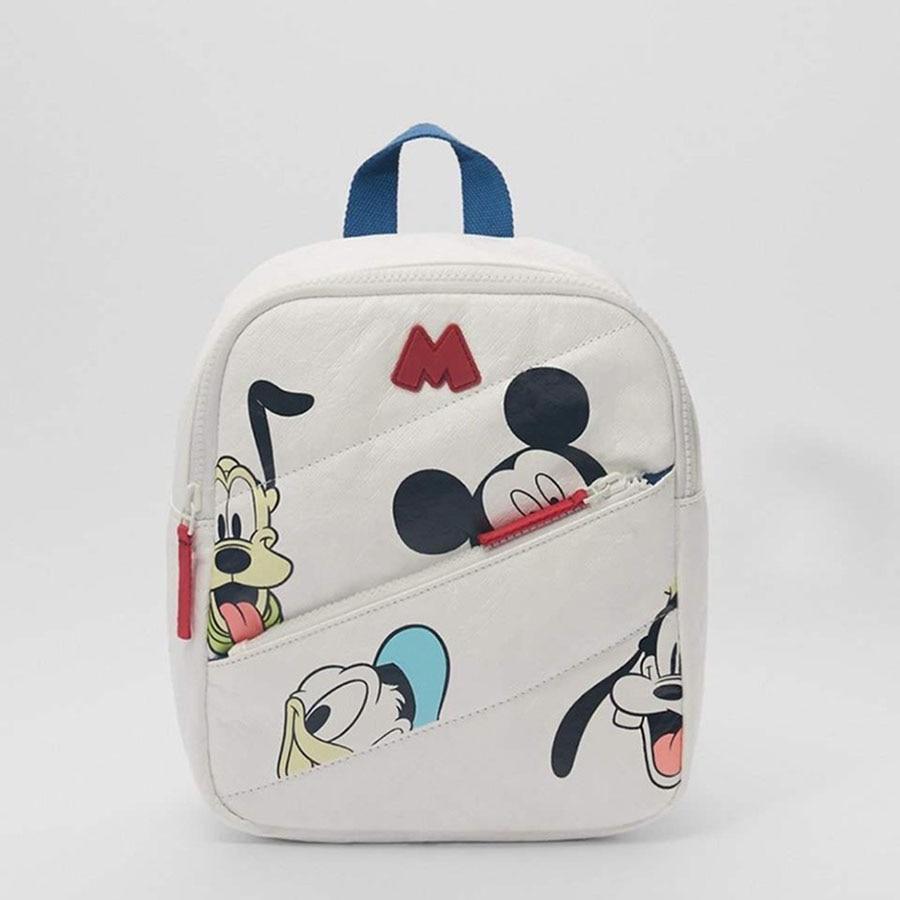 Новинка; Детская сумка с изображением аниме Диснея; Детский рюкзак с Микки Маусом; Детские рождественские подарки; Осенний рюкзак с рисунко...