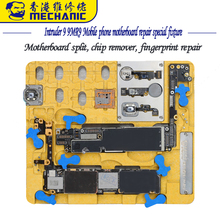 MECHANIC Intruder 9 MR9 Mobile phone motherboard repair special fixture A8 A9 A10 A11 NANA PCIE chip planting tin degumming fing