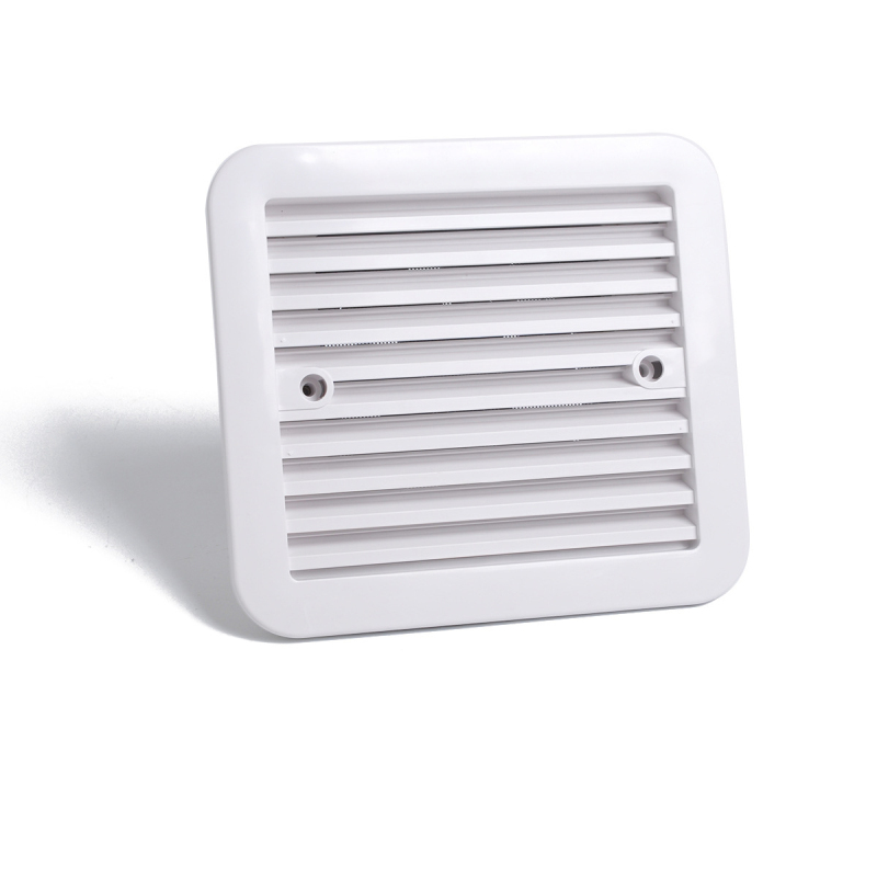"""Rectangular Stamped Louvered Vent Stainless Steel Boat Yacht Air Vent 4.5/""""X 5/"""""""