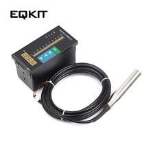 AC220V воды Датчик уровня жидкости Цифровой Дисплей метр 1m Probe луч для измерения уровня воды регулятор уровня жидкости 4-разрядный светодиодный цифровая трубка Дисплей
