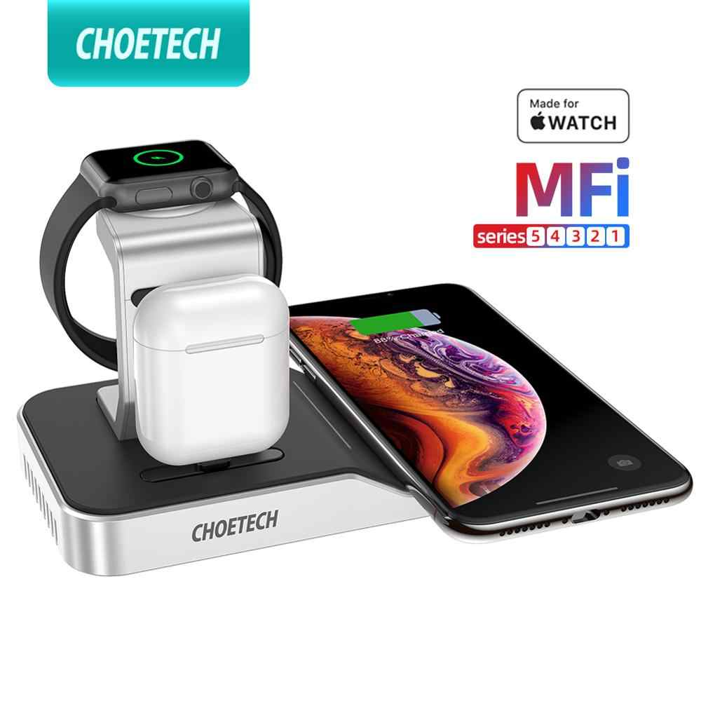 CHOETECH MFi Wireless Charging Stand for Apple Watch Charger54321Series Original Magnetic Wirelss Charger Stand Fast Charger