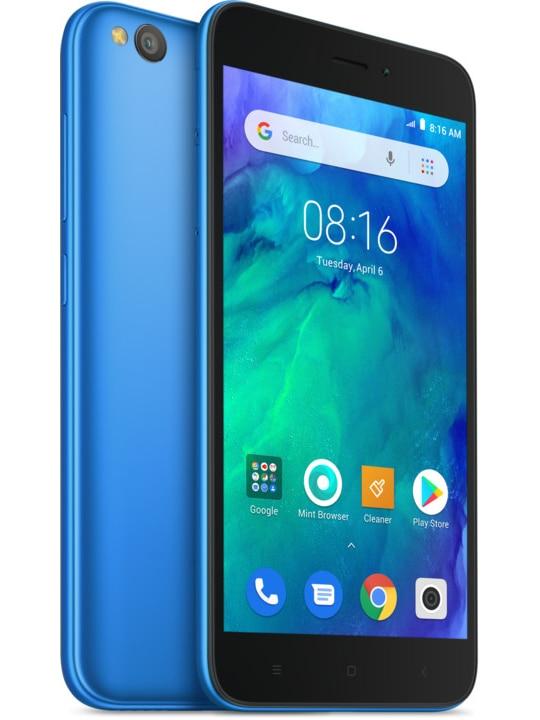 Xiaomi Redmi Go, Global Version, Color Blue (Blue), Dual SIM, Band 4G/LTE/WiFi/Bluetooth 4.1, 8GB Memoria I