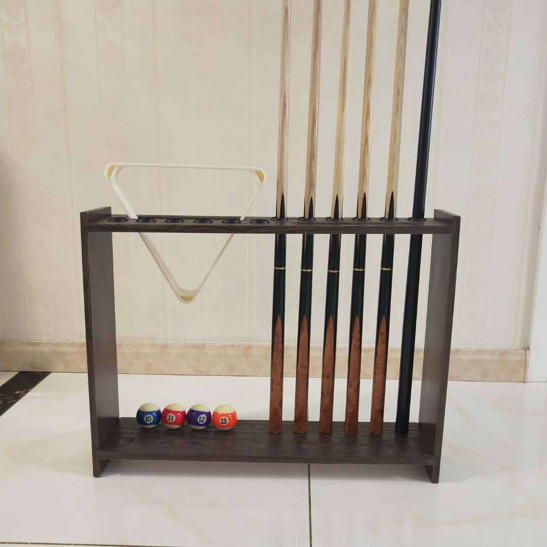 Ball Room Units Cue Rack 12 Hole Vertical Type Rod Holder Put Cue Rack Billiards Accessories Pool Table Ping Pong Table