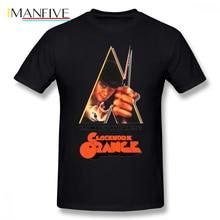 Clockwork Orange T Shirt A T-Shirt Big Mens Tee Printed Cotton Fun Short Sleeves Streetwear Tshirt