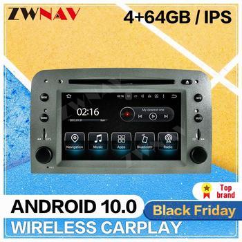 Radio multimedia con gps para coche, radio con reproductor dvd, 10,0 Android,...