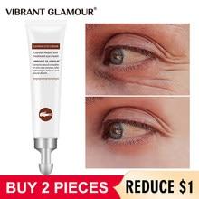 Canlı GLAMOUR timsah Anti-Aging göz kremi koyu halkalar şişlik hafifletmek ince çizgiler beyazlatma nemlendirici göz bakımı