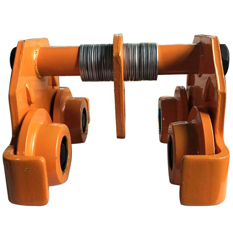 1 Ton Ordinary Trolley Push Beam Monorail Trolley Trolley Lifting Chain Hoist Chain Crane