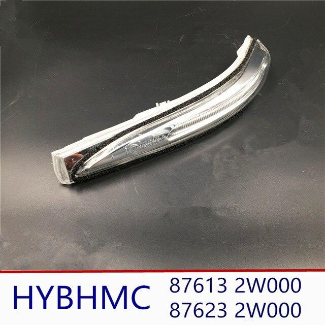 Genuine Mirror Light  Side Rear View Mirror LED Turn Signal Lights Blink Flasher for hyundai Santa fe DM  876132W000 876232W000