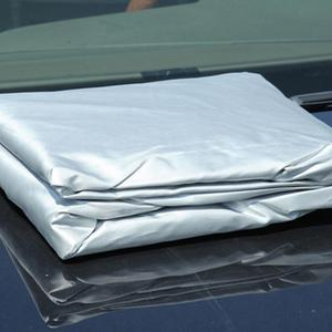 Image 5 - Universal Full Car Covers Snow Ice Dust Sun UV Shade Cover Light Silver Size S XL Auto Car Outdoor Protector Cover
