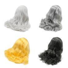 Blyth دمية شعر مستعار الجليدية فقط rbl فروة الرأس وقبة لعبة الشعر لتقوم بها بنفسك دمية مخصصة