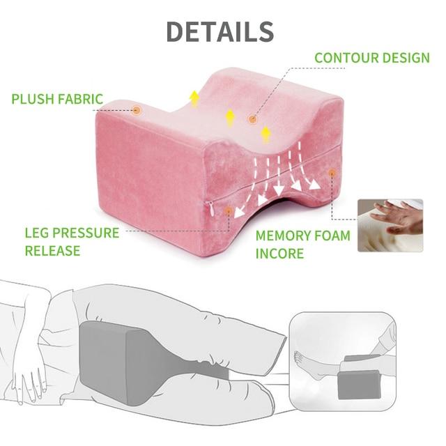 Купить подушка с эффектом памяти для сна между ногами подушка боковых картинки цена
