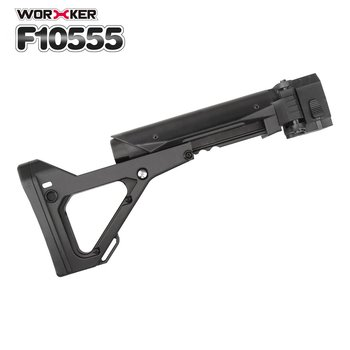 Worker Mod Shoulder Stock 3D Printing Foldable Tail Stock Buttstock Toy Gun Accessories For Nerf N-strike Elite Series worker f10555 no 152 stf type b set professional toy gun accessories for nerf stryfe black