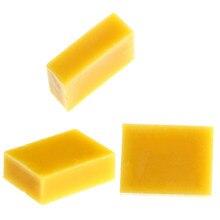 Sabão natural puro da vela da cera de abelha de diy 100% que faz fontes nenhum batom de soja adicionado cosmeticsmaterial cera amarela cera cera cera de abelha cera flava