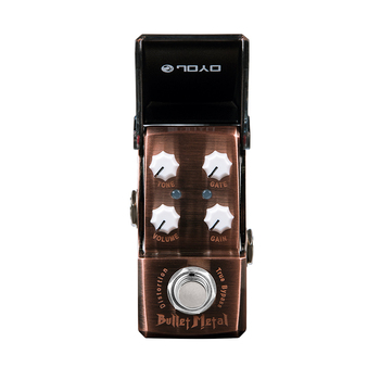 JOYO JF-321 Bullet Metal Acoustic Guitar Effect Pedal for Electric Guitar GATE Function Button Effect Mini Pedal True Bypass mosky mini vol attenuator pedal electric guitar effect pedal with true bypass