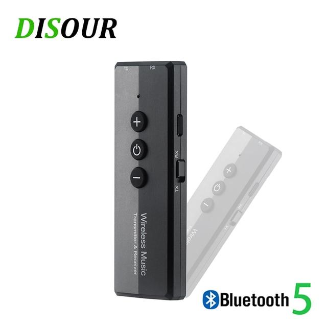 블루투스 5.0 송신기 수신기 3 in 1 edr 오디오 무선 어댑터 dongle mini 3.5mm aux for tv pc 자동차 블루투스 스테레오 hifi