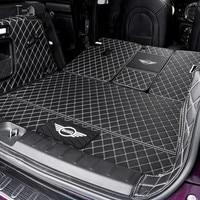 Alfombrilla de protección para maletero, decoración de coche, accesorios para BMW MINI COOPER S ONE F54 F55 F56 F60 R60 CLUBMAN