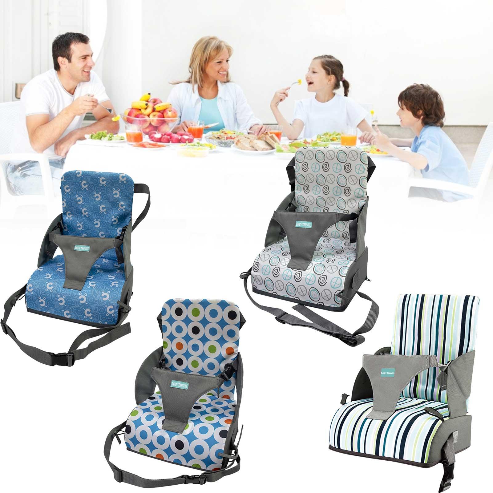 Детское кресло, складной моющийся высокий обеденный чехол для новорожденных, ремень безопасности, аксессуары для кормления и ухода за ребенком, для путешествий 6