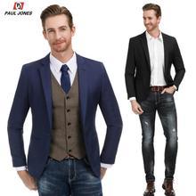 PAUL JONES Men Casual Suit Jacket Slim Fit Blazer
