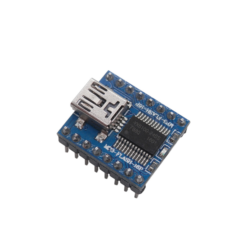 Sound Module Serial Port MP3 Voice Module SPI Drive Module  USB Directly To Sound 64M Bit Flash