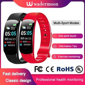 Heart Rate Bracelet Smart Watch  Sports Wristband Handband Sleep Monitor Smartband Fitness Electronic Pedometer Bluetooth