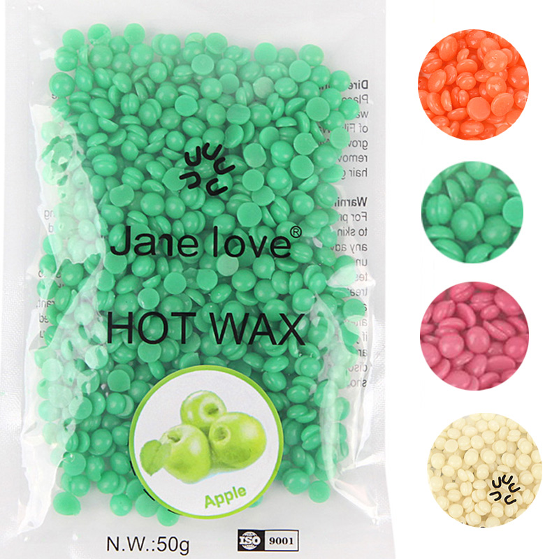11 Flavors 50g/Pack Depilatory Wax Beans Hair Removal Solid Hard Wax Beans Unisex Armpit Arm Legs Epilation Private TSLM2