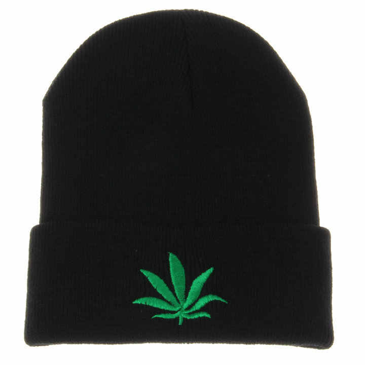 LENGMAO005 invierno mujer Casual cálido letra bordado sombrero de punto Gorros hombre sólido algodón esquí Skullies gorras Gorros
