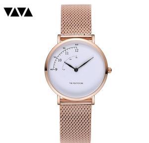 Image 3 - Fashion Design Nylon Women Watch Ladies Quartz Wristwatch Leather Strap ALL match Dress Clock Female montre femme 2019