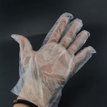 50 100 sztuk zestaw rękawice plastikowe jednorazowe rękawice do restauracji do kuchni na grilla ekologiczne rękawiczki do żywności owoce warzywa rękawiczki tanie i dobre opinie