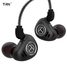 TRN V90 4BA+1DD Hybrid Metal In Ear Earphone IEM HIFI Monitor Running Sport Earphone Earplug Headset 2Pin Detachable BA5/ST1/V80