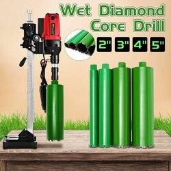 4Pcs/set Wet Diamond Core Drill Bit Drilling tool Wall Hole Concrete 51/76/102/120mm Perforator Masonry Water Wet Marble Granite