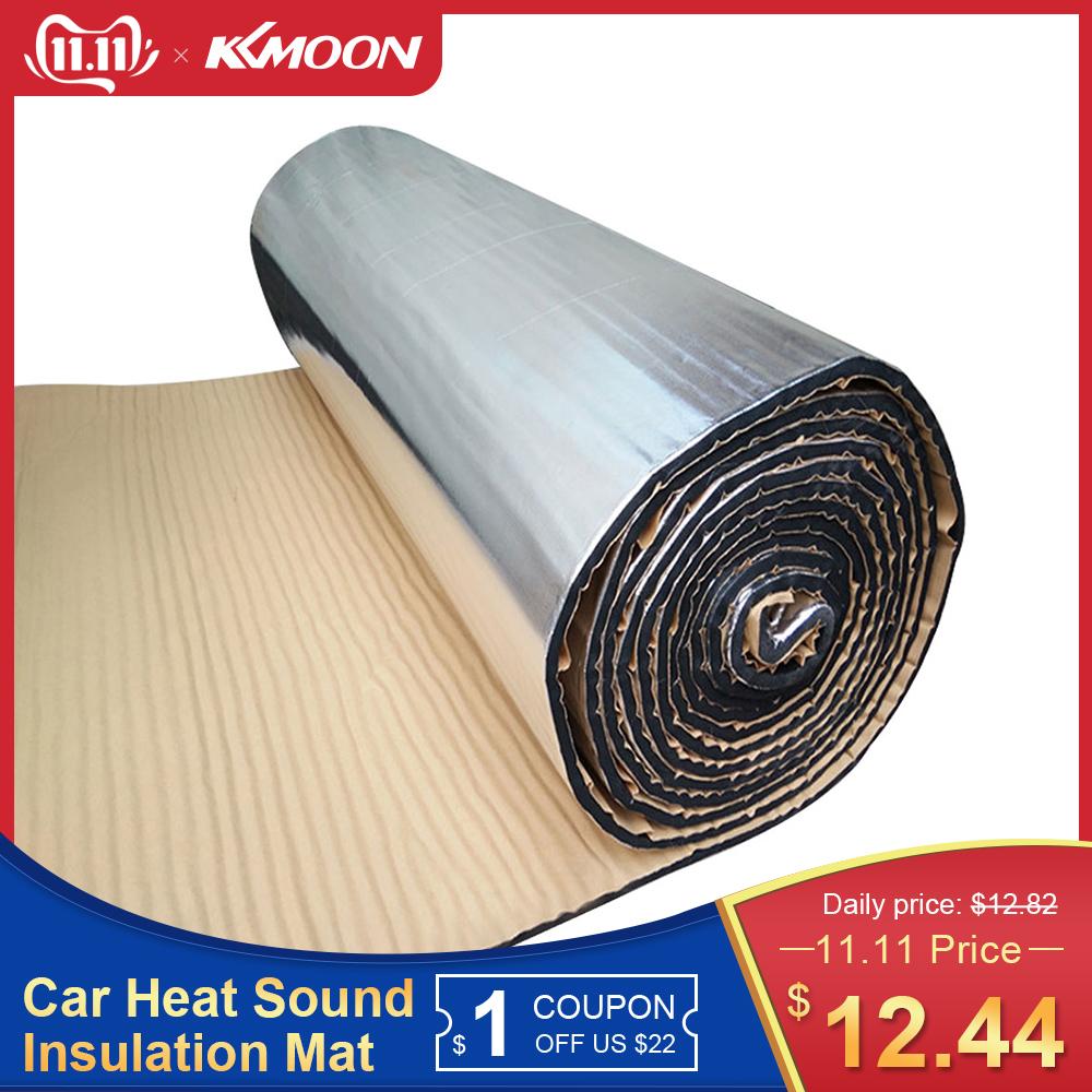 7mm 500x2000mm 20 inchx79 inch Auto Car Truck Firewall Heat Sound Deadener Insulation Mat Noise insulation wool Car Styling