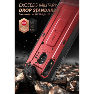 Image 5 - SUPCASE funda para Samsung Galaxy A20 /A30 carcasa UB Pro de cuerpo completo, funda resistente con Protector de pantalla incorporado y soporte de apoyo