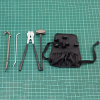 1/6 Scale Male Repair Tool Backpack Hydraulic Clamp Man Repair Tool Model for 12 Action Figure Body Doll Accessories
