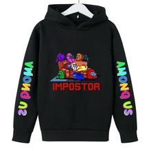 Girl Hoodie Boys Clothes Among Us Sweatshirt Printed Cotton Casual Autumn