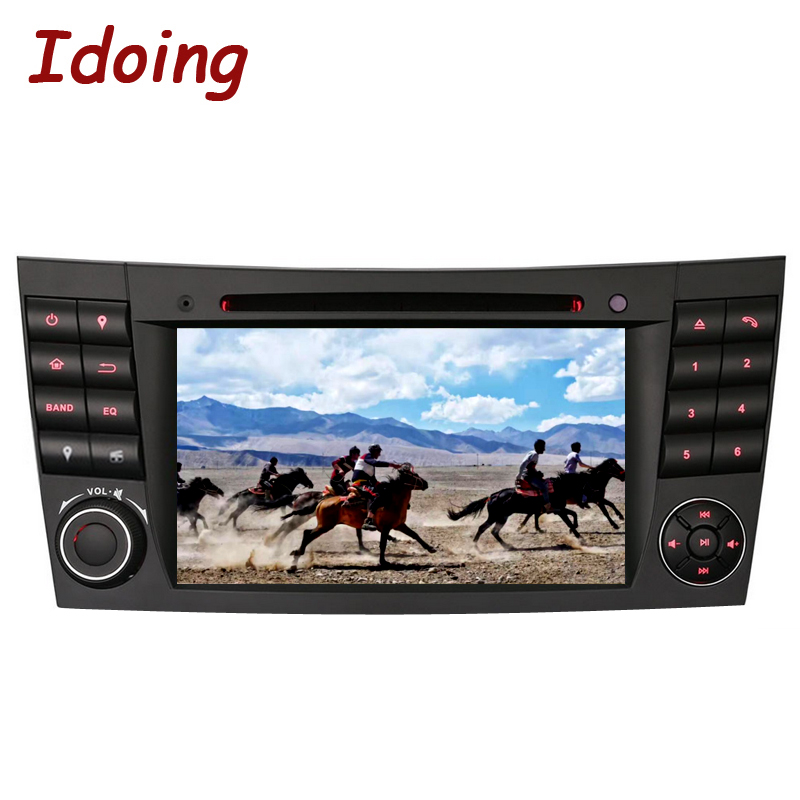 Idoing 2Din Car Radio <font><b>GPS</b></font> Android 7.1 <font><b>For</b></font> MercedesBenz E Class W211 Multimedia Player <font><b>GPS</b></font> Navigation Steering Wheel Bluetooth image