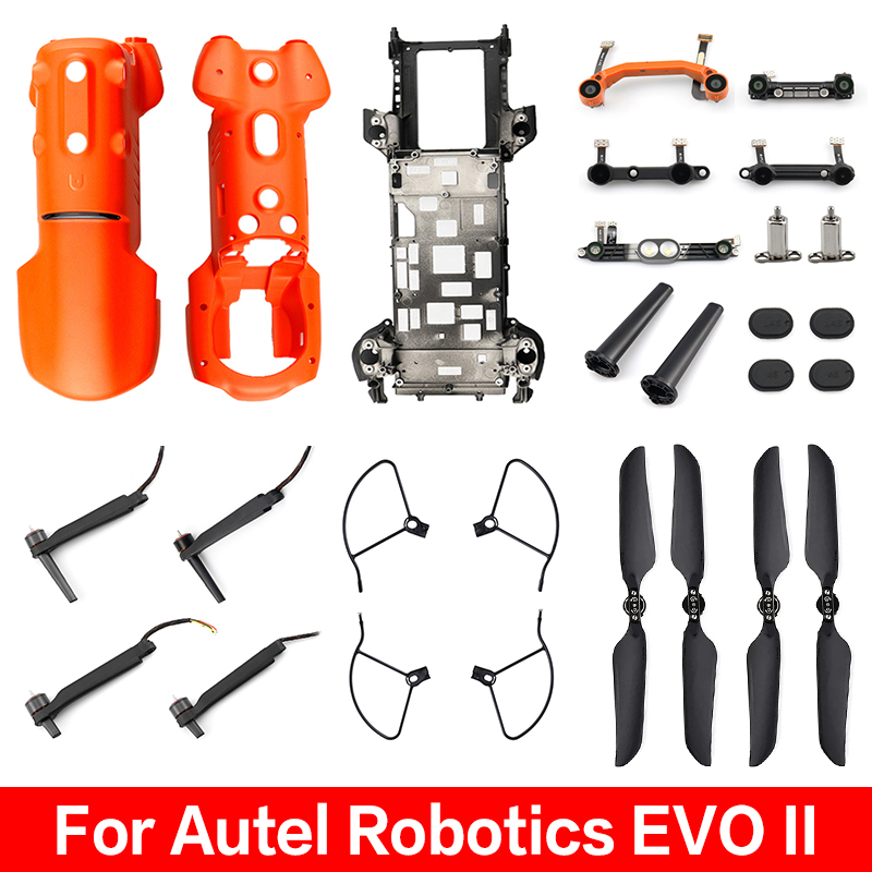 Autel Robotics EVO II Pro 8K 6K Motor Arm Front Rear Left Right Top Bottom Binocular Shell Assembly Battery Cover PropellerParts